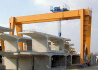 Double Girder Gantry Crane With Heavy Duty Open Winch Trolley Hoist GB / JB Standard
