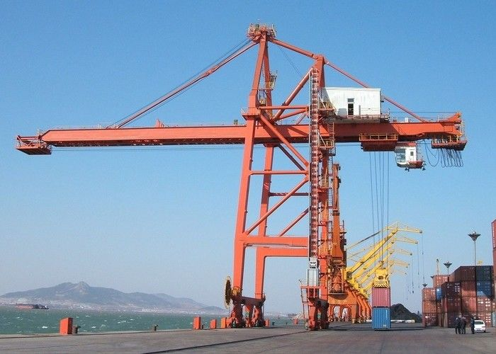 Quayside Ship To Shore Port Container Crane 50 Ton With CE ISO Certificates